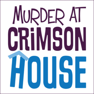 Murder at Crimson House logo