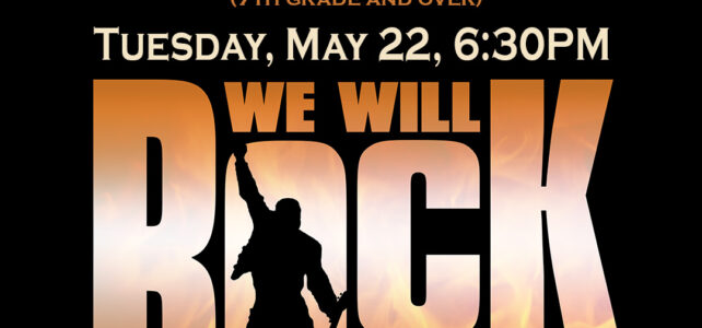 AUDITIONS – We Will Rock You